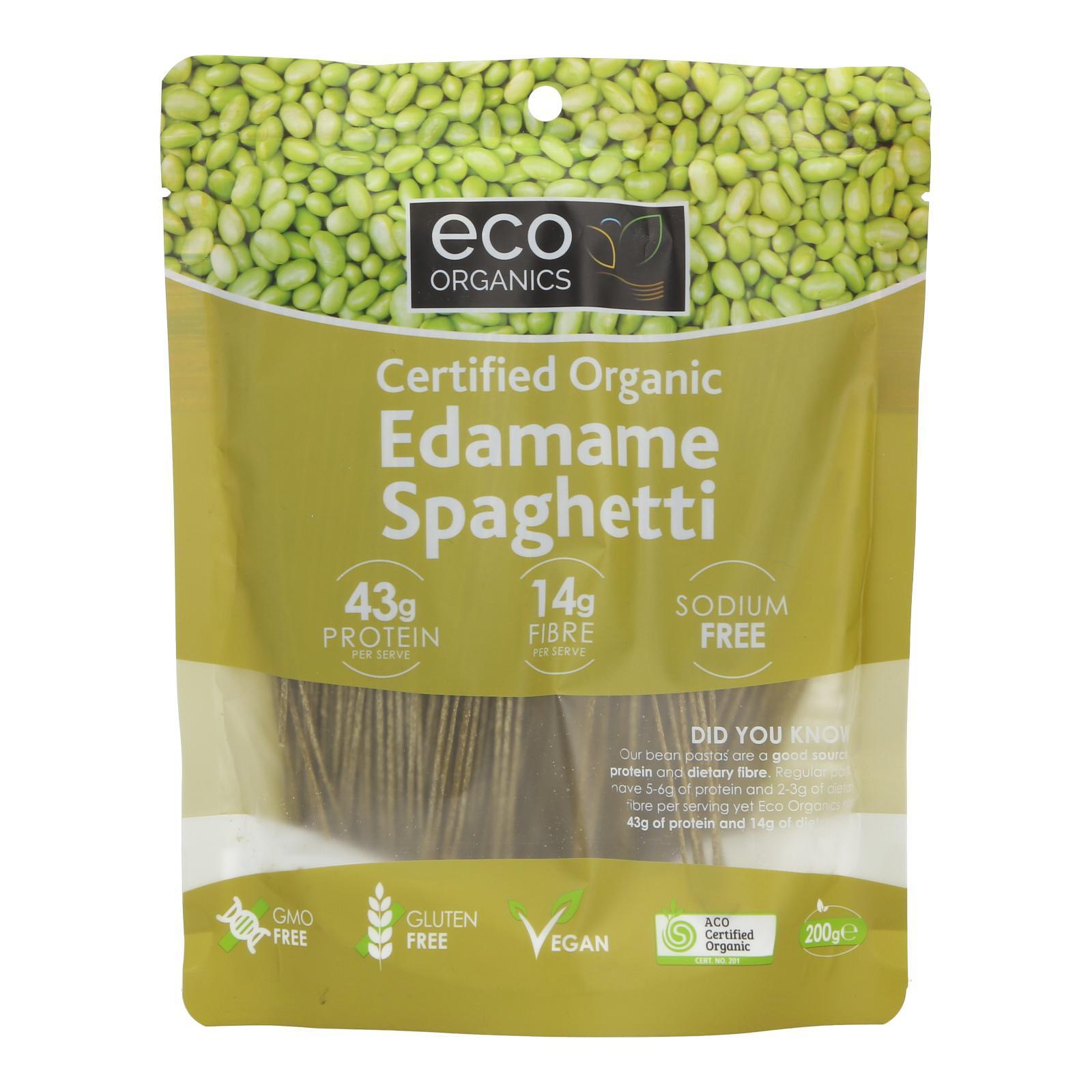 Eco Organics Edamame Spaghetti - By Wholesome Harvest