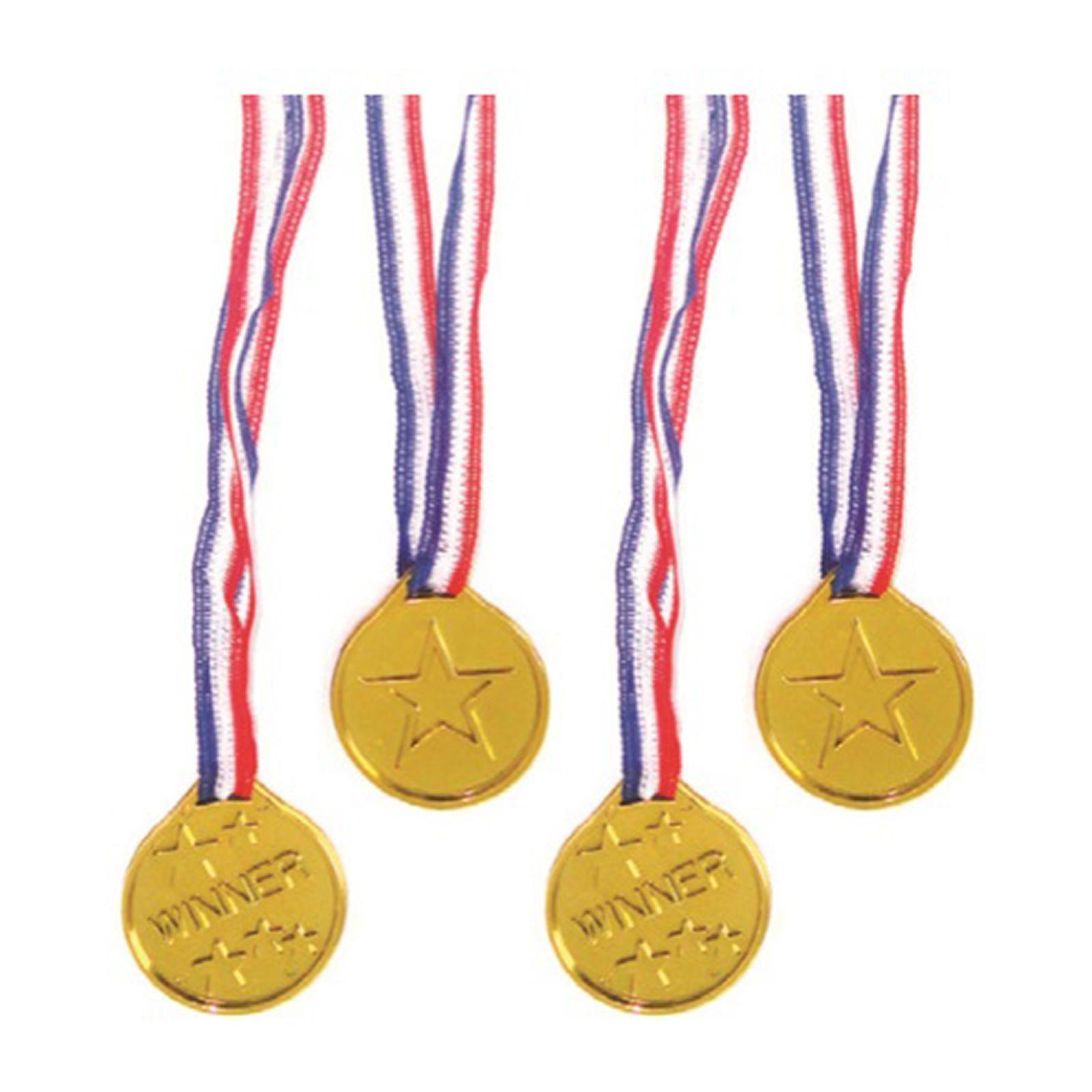 Artwrap Party Favors - Gold Medals