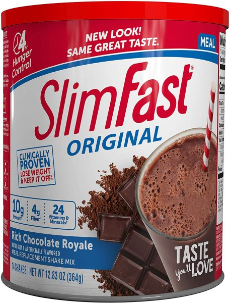 Buy Slimfast Original Meal Replacement Shake Mix 34 Servings Chocolate Royale FREE Shipping 2-3 Days by Racepack Singapore