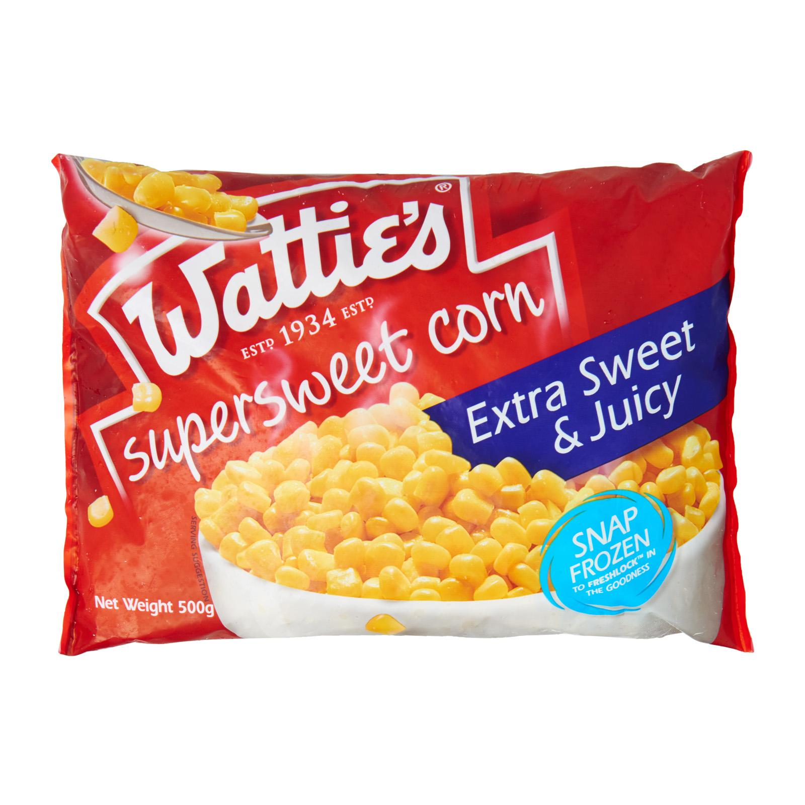 Watties Sweet Corn Kernal - Frozen By Redmart.