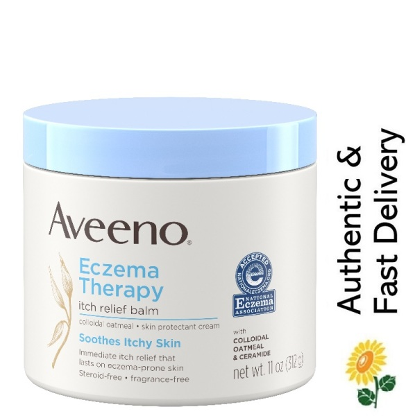 Buy [SG] Aveeno, Eczema Therapy Itch Relief Balm, 11 oz (312 g) [NO Steroid, Fragrance, or Paraben | Hypoallergenic] Singapore