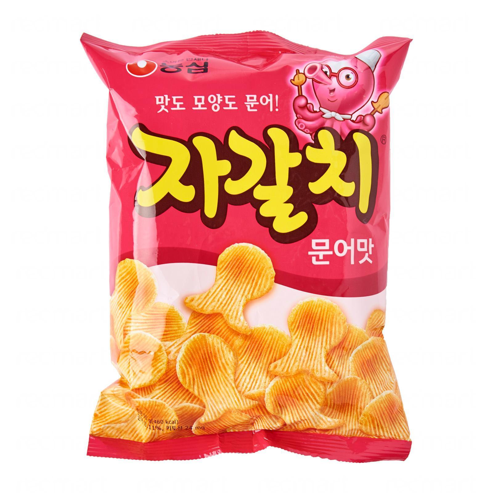Nongshim Korean Tako Octopus Shaped Flavored Snacks