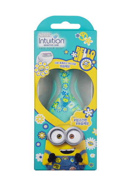 Buy Schick Sensitive Intuition Womens Razor Minions Green Limited Edition Singapore