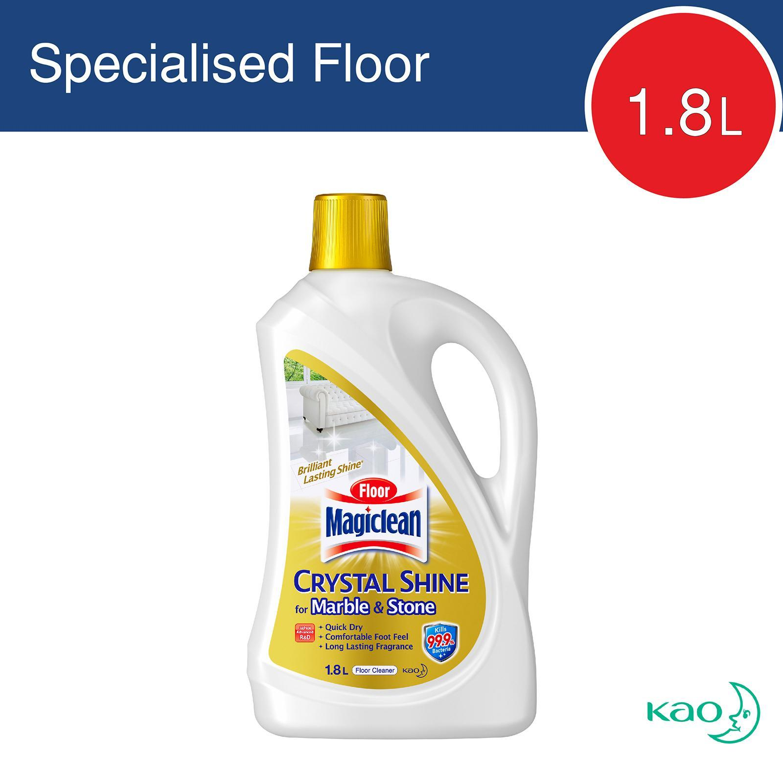 MAGICLEAN Crystal Shine Floor Cleaner - Marble & Stone 1.8L