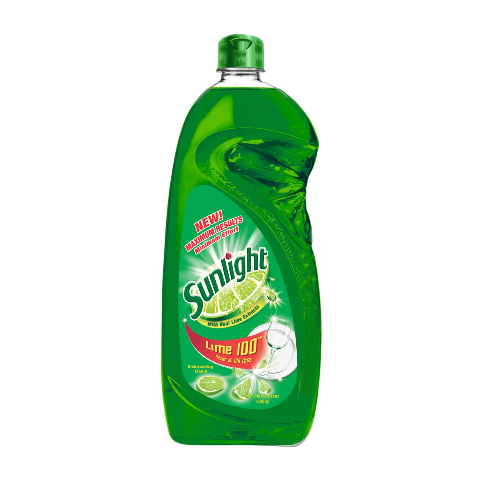 SUNLIGHT Dishwashing Liquid - Lime 1L