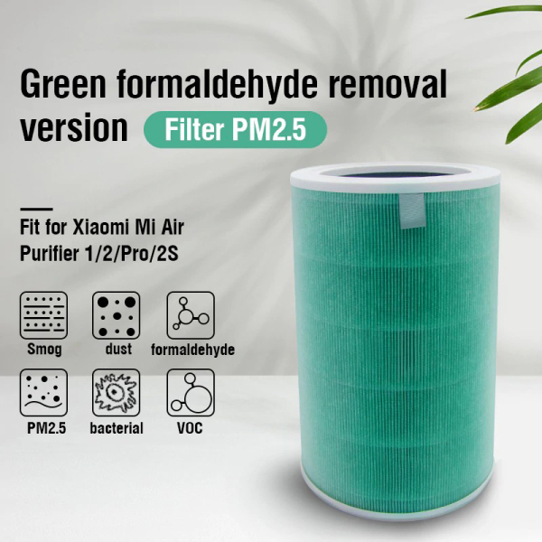 Xiaomi Mi Air Purifier Filter (Standard Blue / Formaldehyde Removal Green / Anti-bacteria Purple) For Mi Air Purifiers - Gen 1 / 2 / 2S / 2H / 3 / 3H / Pro Singapore