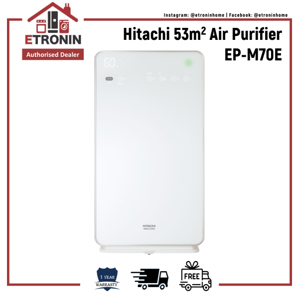 Hitachi 53m2 Air Purifier EP-M70E Singapore