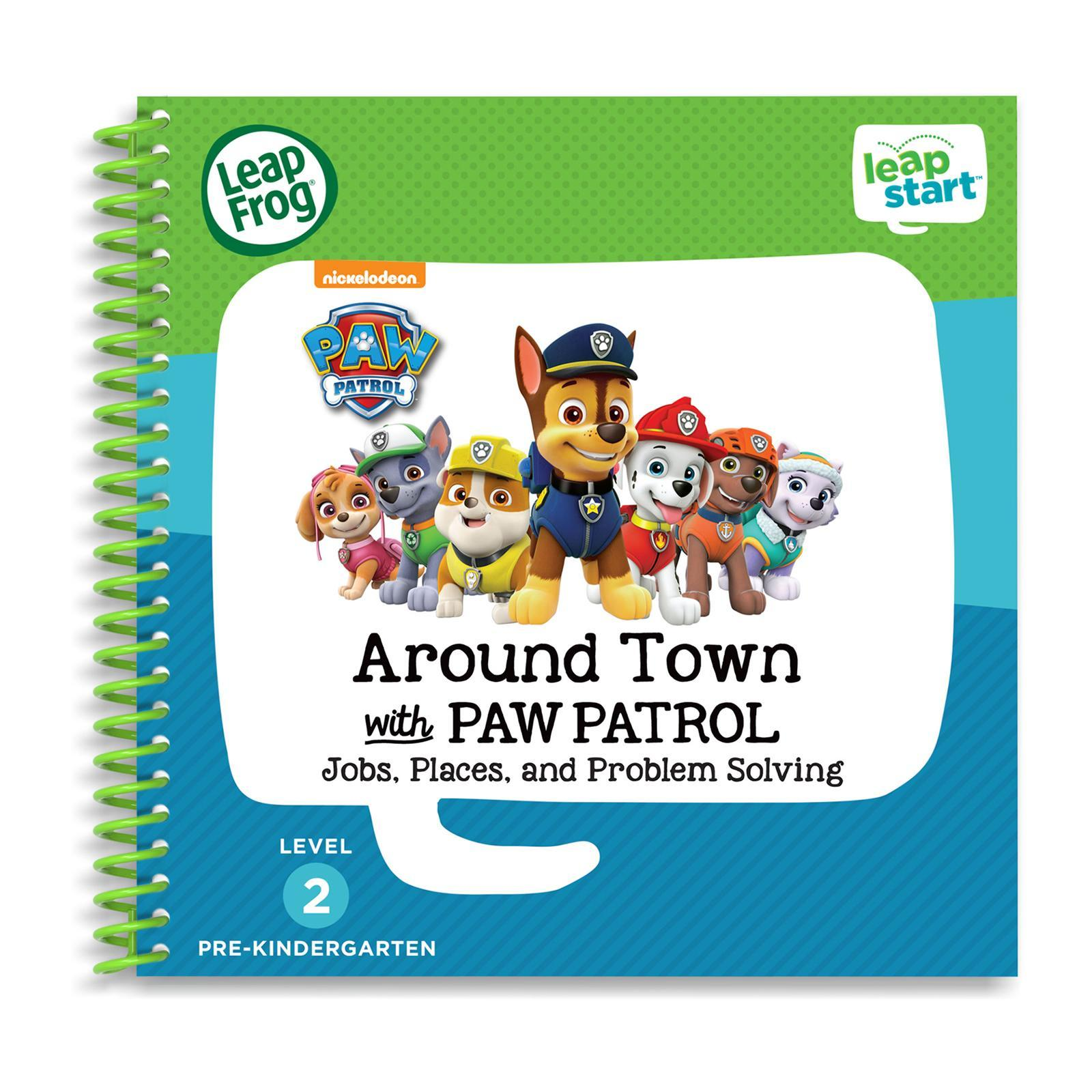LeapFrog LeapStart Book - Paw Patrol Around Town With Paw Patrol
