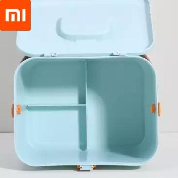 New Xiaomi Mijia Youpin Household medicine storage box Layered large capacity portable multi-divided compartment well sealed
