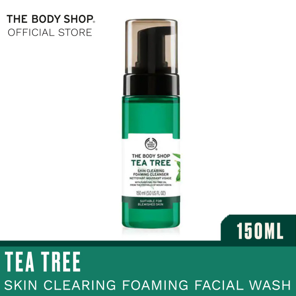 Buy The Body Shop Tea Tree Skin Clearing Foaming Cleanser 150ML Singapore