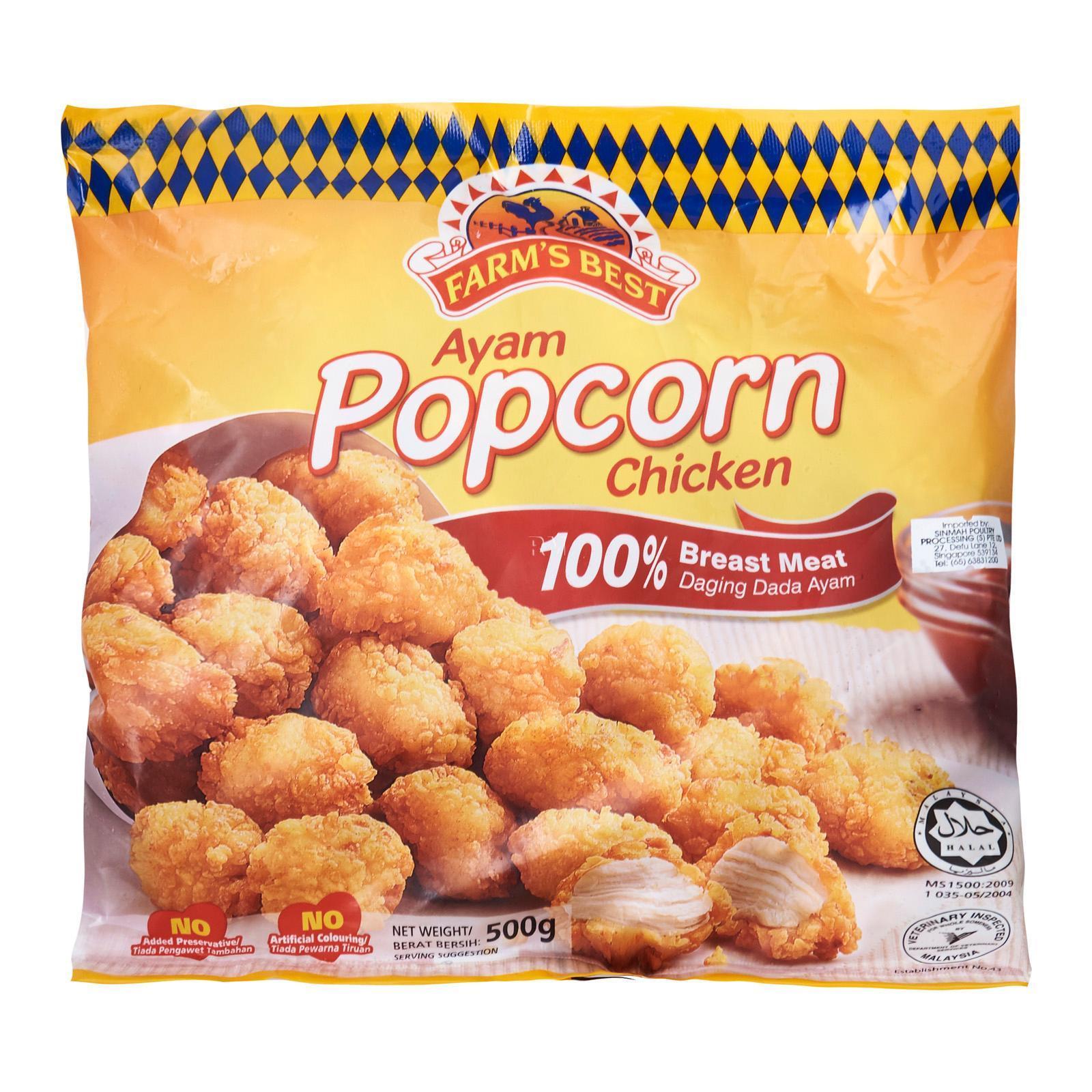 Farm's Best Popcorn Chicken - Frozen