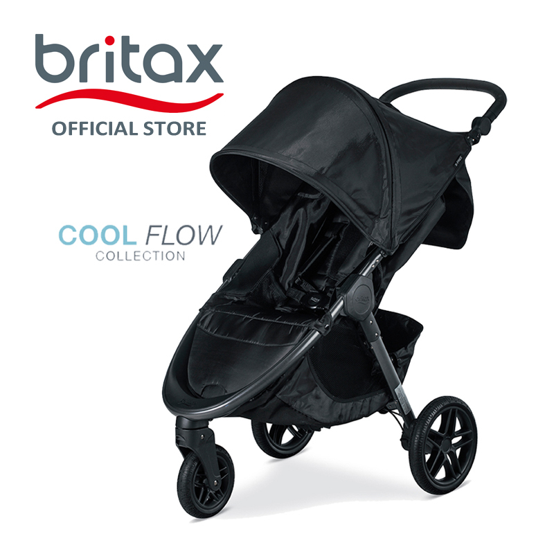 Britax B-Free Stroller | Pram | 3 Wheelers - Cool Flow Grey Singapore