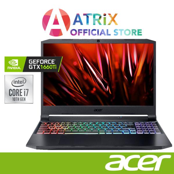 【Same Day Delivery】Acer Nitro 5 AN515-55-70A7 | 15.6 FHD IPS 144Hz | GeForce GTX 1660TI | ntel Core™ i7-10870H | 16GB DDR4 | 1TB PCIe SSD | 2Y Warranty