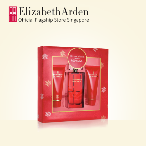 Buy Elizabeth Arden New Red Door Vibrant Fragrance and Bodycare 3pc Gift Set:  EDP 100ml, Perfumed Body Lotion 100ml, Shower Gel 100ml Singapore