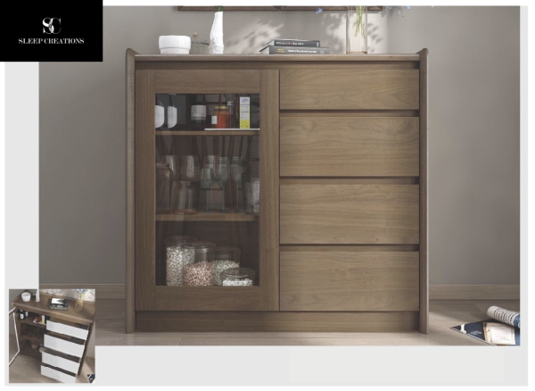 Magma Sideboard with Drawer
