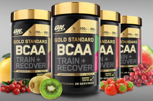 Buy Optimum Nutrition, Gold Standard, BCAA Train + Recover (280g) (28 Servings) - Pick Your Flavour Singapore