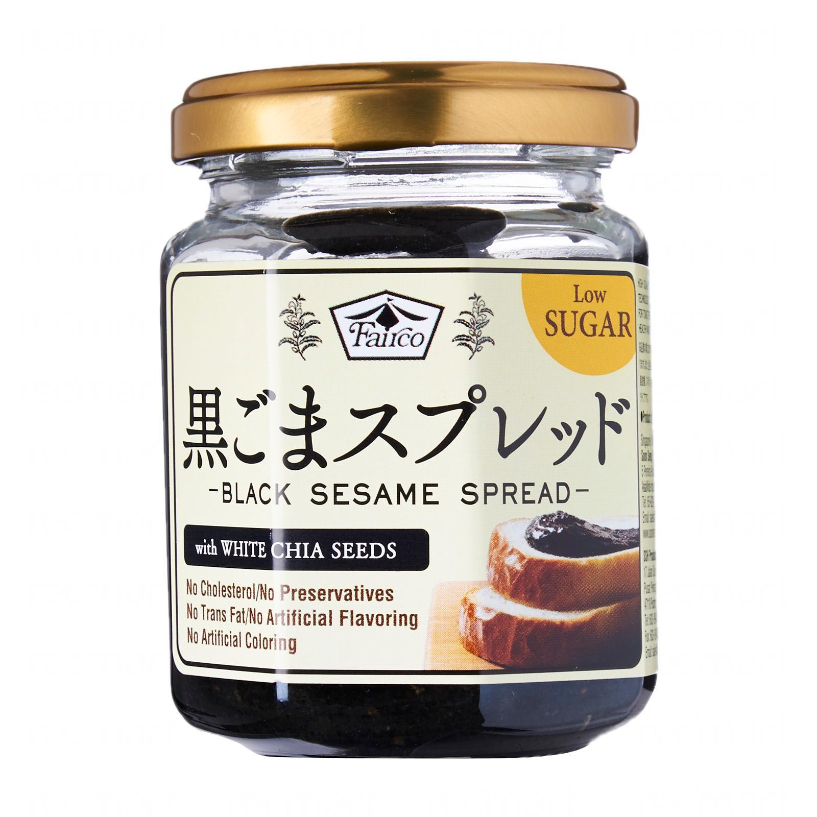 Fairco Premium Black Sesame Spread (W/White Chia Seeds And Low Sugar)