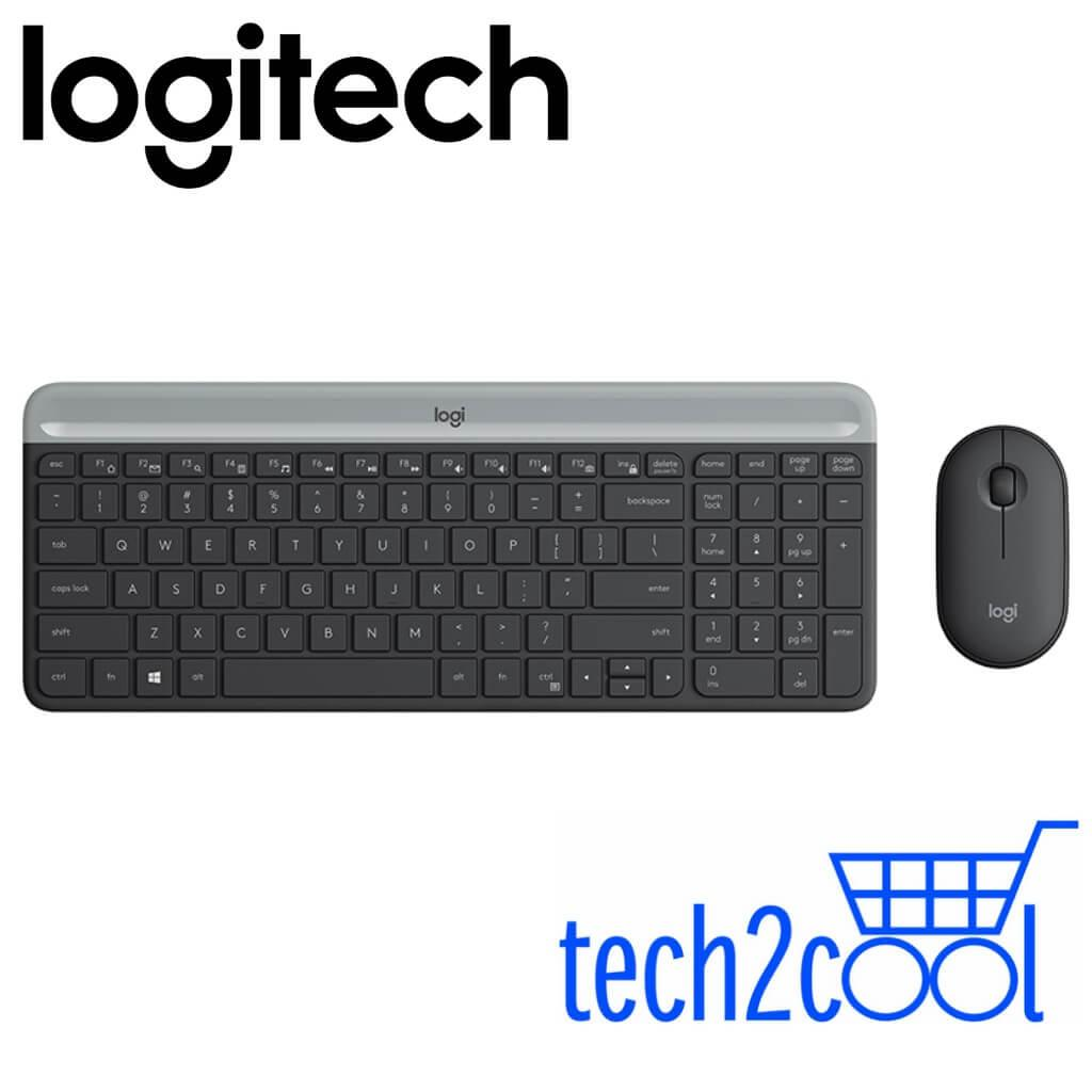 Logitech MK470 Slim, Compact and Quiet Wireless Keyboard and Mouse Combo #Promotion Singapore