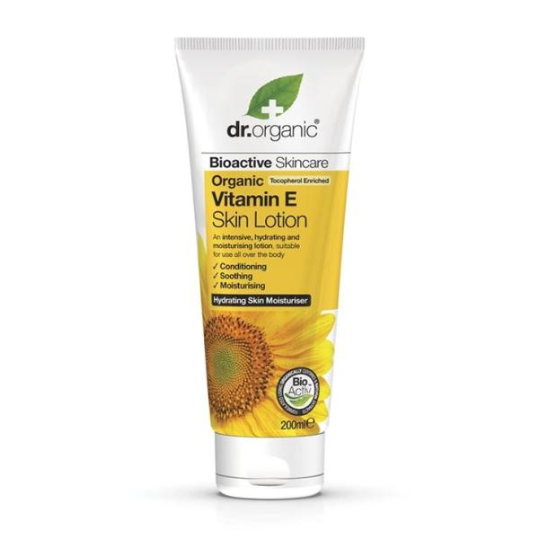 Buy Dr Organic Vitamin E Skin Lotion 200ml Singapore