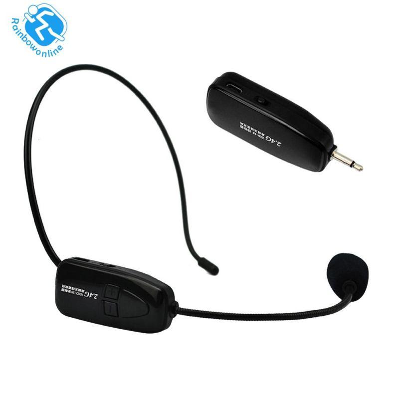2.4G Wireless Microphone Speech Headset Megaphone Radio Mic for Loudspeaker Singapore