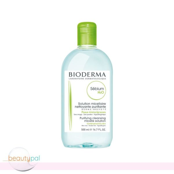 Buy Bioderma Sebium H2O Purifying Cleansing Micelle Solution 500ml Singapore