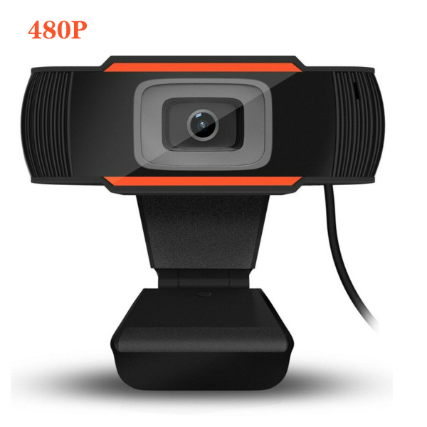 [SG Ready Stock]480/720/1080P HD Webcams, Portable Auto Focus Rotatable PC Laptop Desktop Web Camera with Microphone