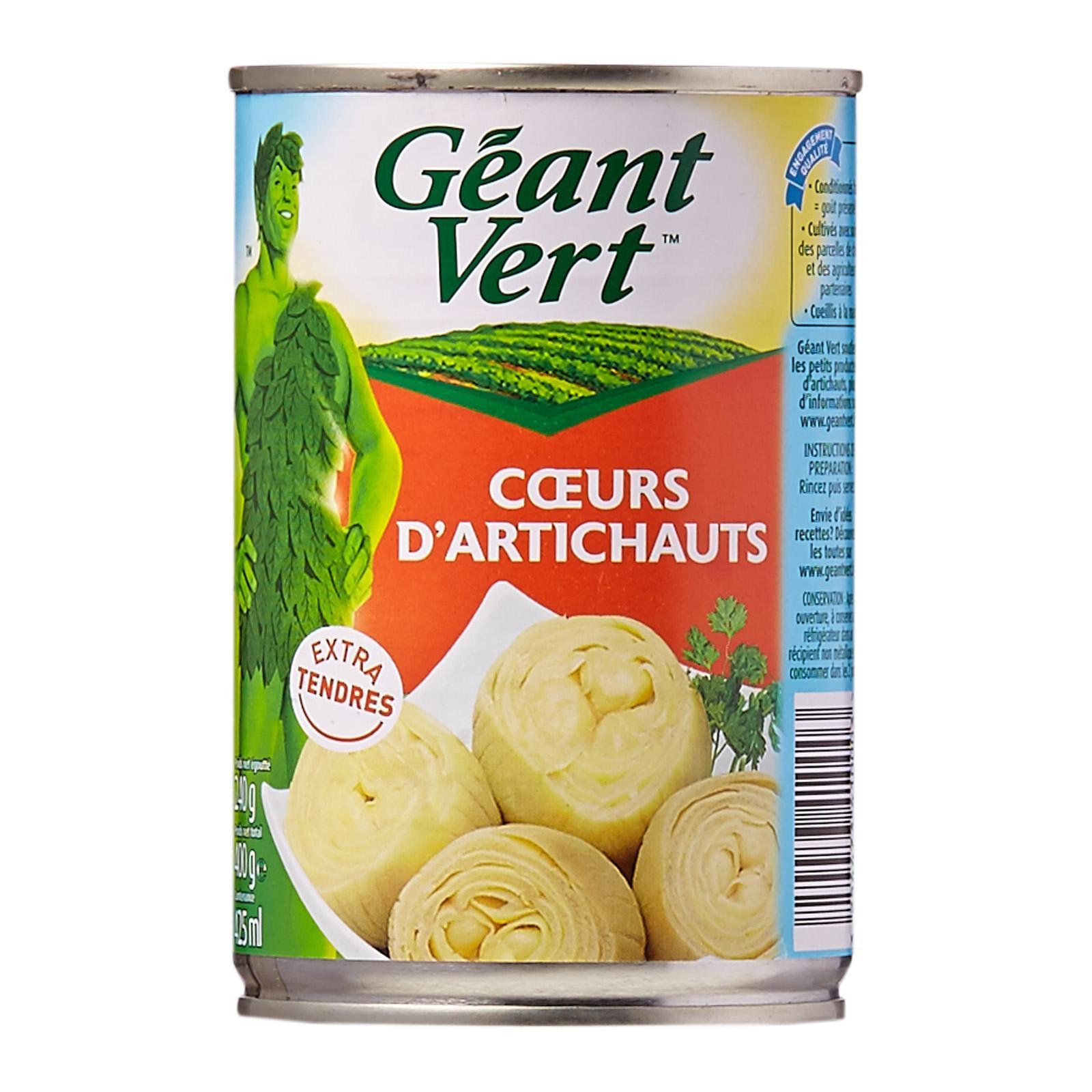 Geant Vert Artichoke Hearts - By Le Petit Depot By Redmart.