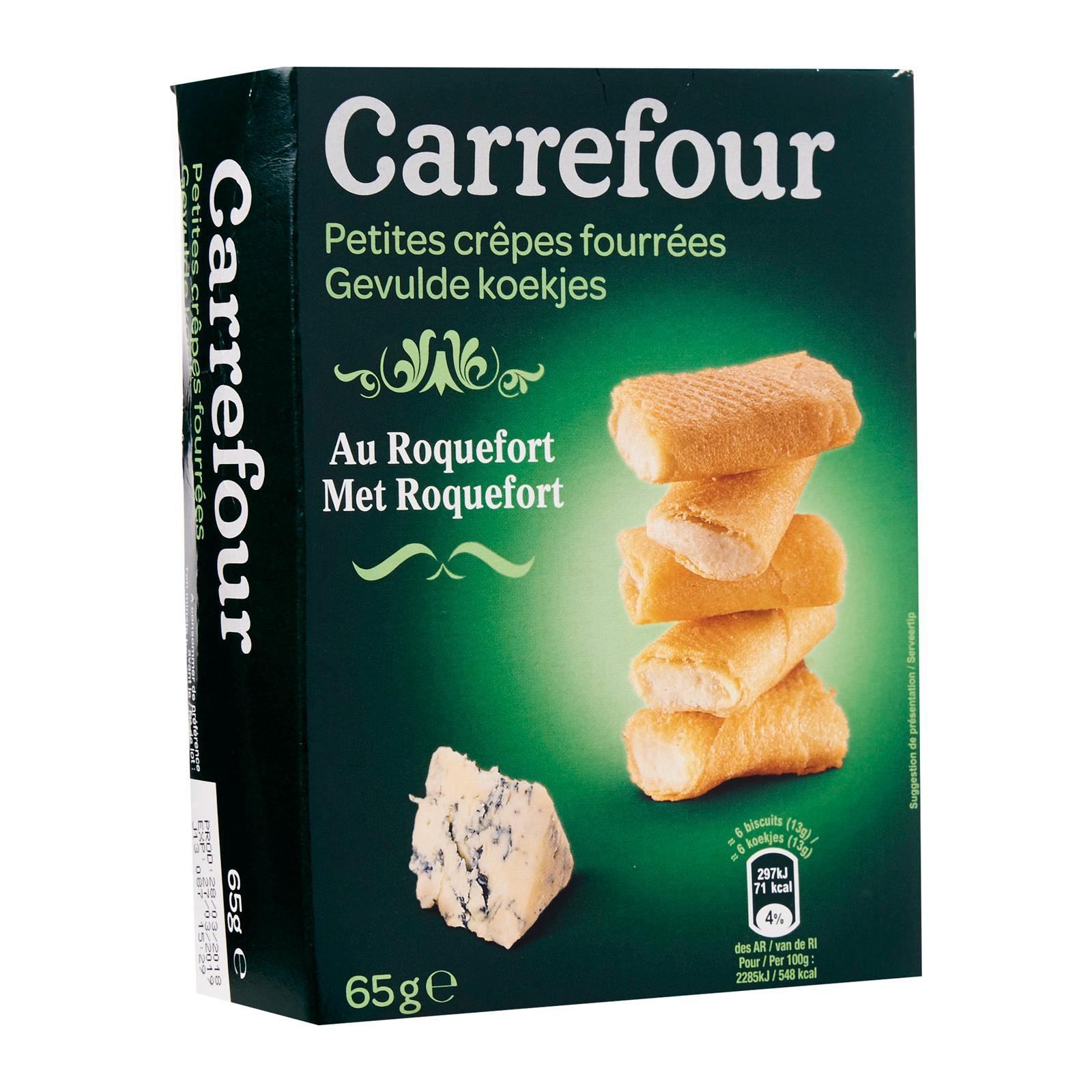 Carrefour Stuffed Pancakes - Roquefort - By Le Petit Depot By Redmart.