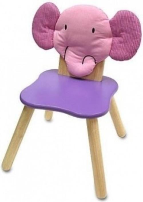 I'M TOY Wooden Forest Chair Elly Elephant