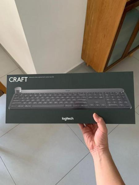 LOGITECH Craft Advanced Wireless Keyboard Singapore