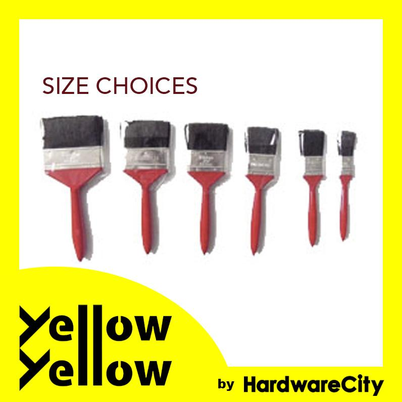 Paint Brushes Common Red Handle (CHOOSE SIZE)