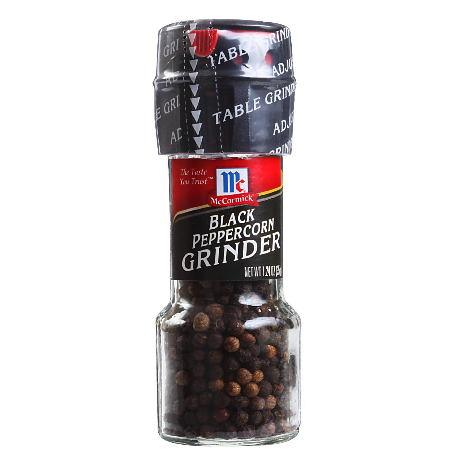McCormick Spices - Black Peppercorn (Whole)