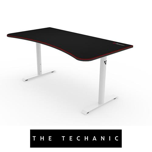 AROZZI ARENA GAMING TABLE WHITE