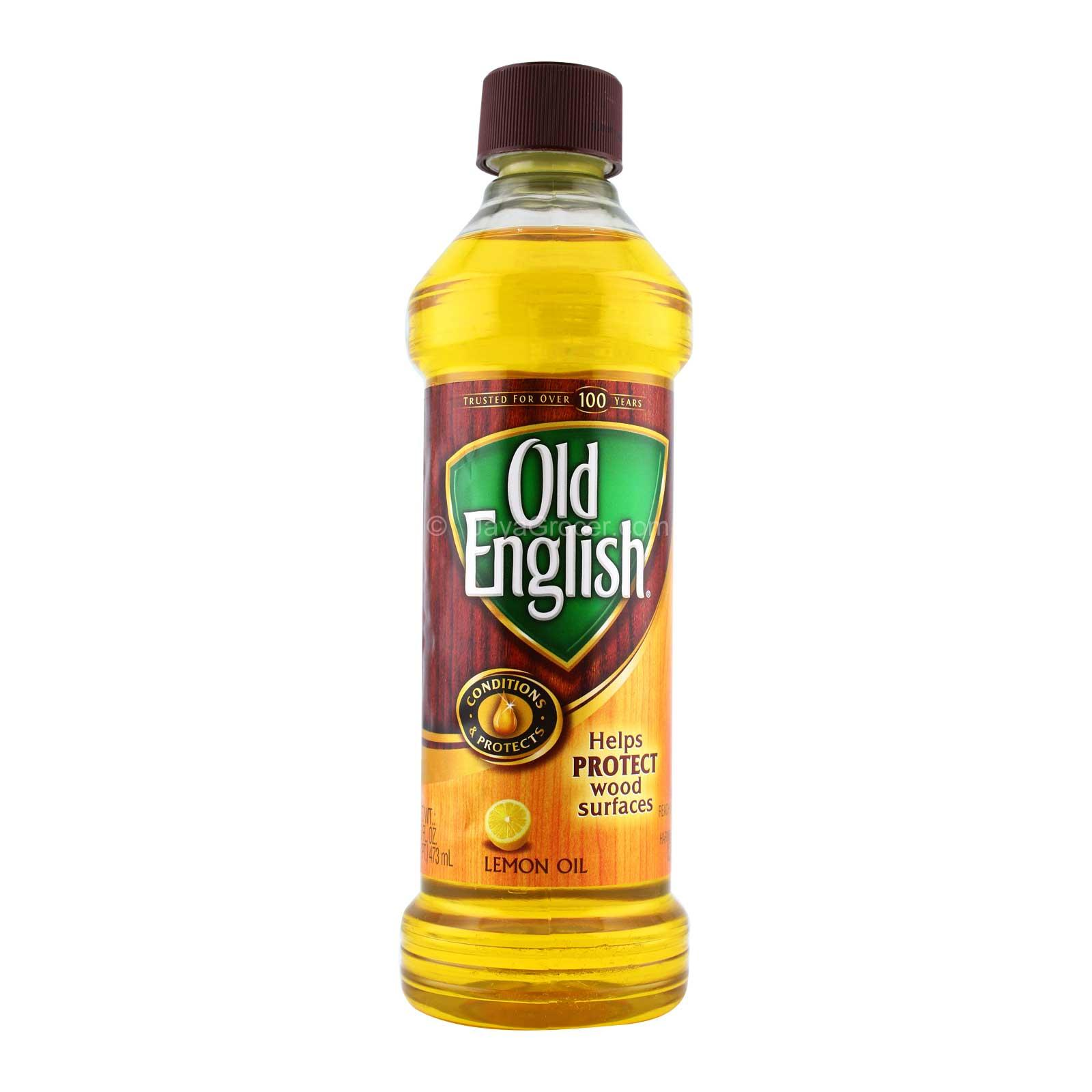 Old English Wood Conditioning n Protecting Lemon Oil 473ml