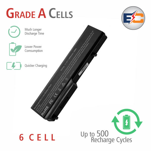 Replacement Laptop Grade A Cells Battery V1320 Compatible with V1320-8-3S2P, Dell Vostro 1310, 1320, 1510, 1520, 2510, K738H, 0K738H, 0N950C, G274C, K738H, N950C, N956C, N958C, T112C, T114C, U661H
