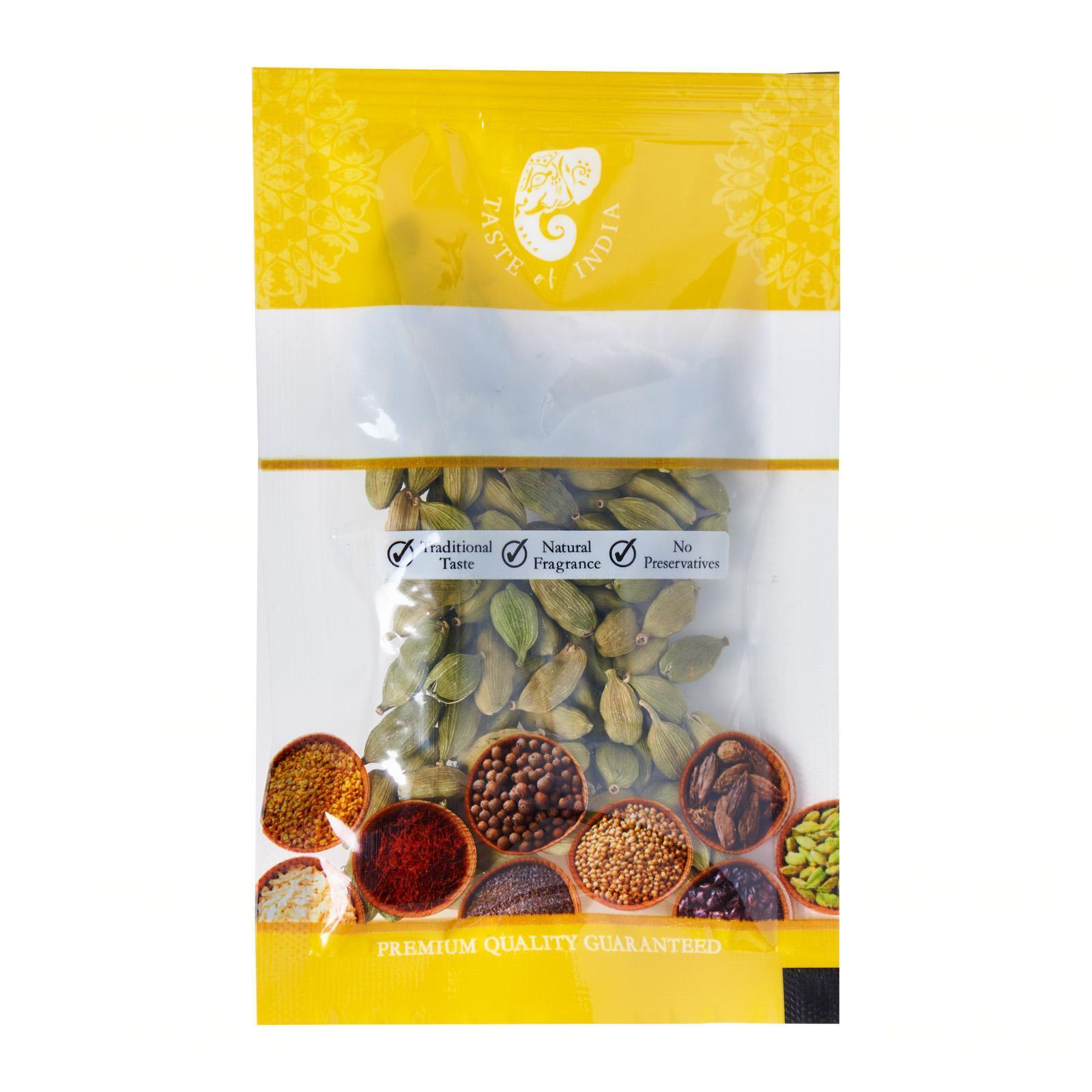 Taste Of India Premium Cardamom (Elachi) 20gm