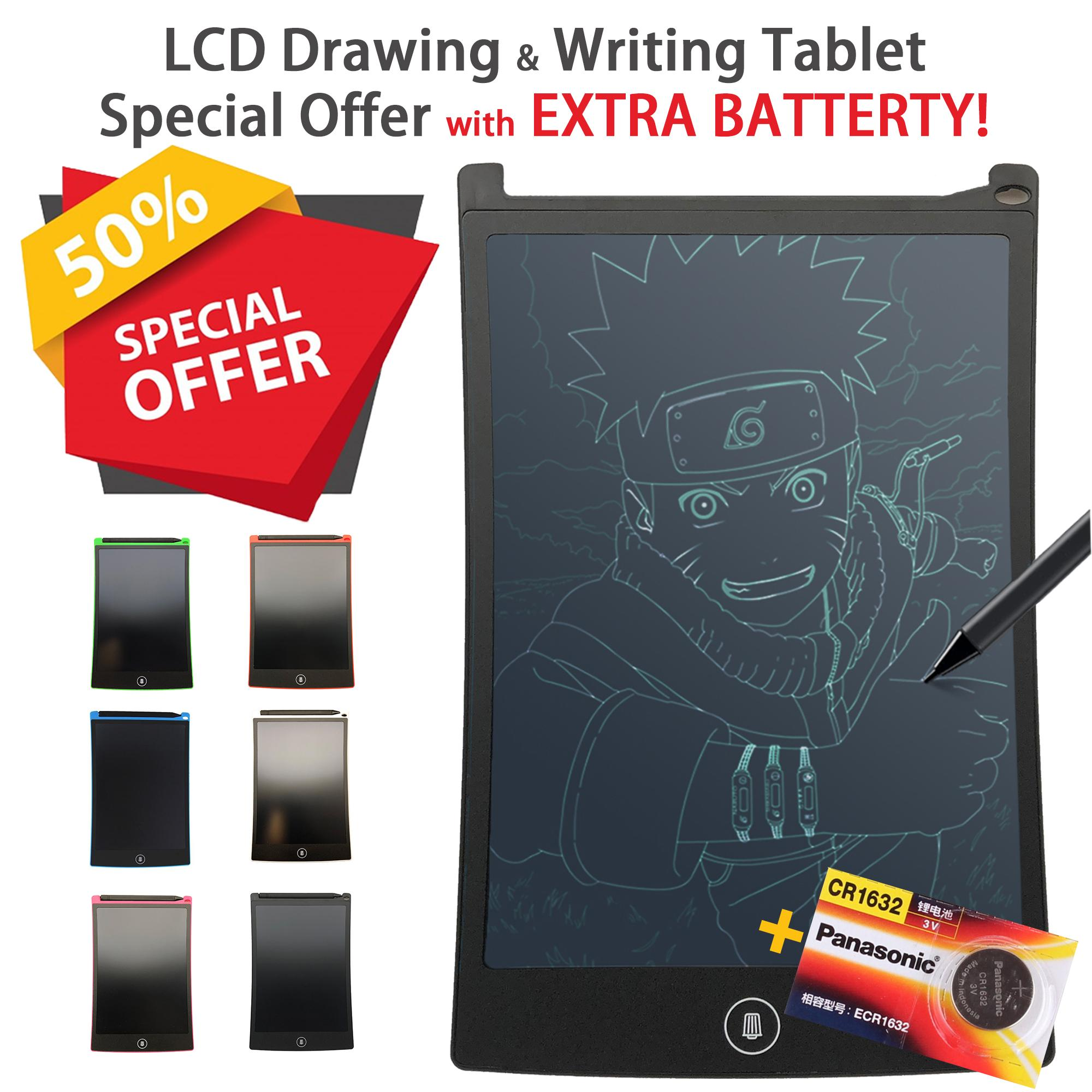 8.5 Inch LCD Ultra Bright Drawing & Writing Memo Pad Tablet Boogie Board Digital Writing & Digital Drawing Graphics Board for Home Office & for Children
