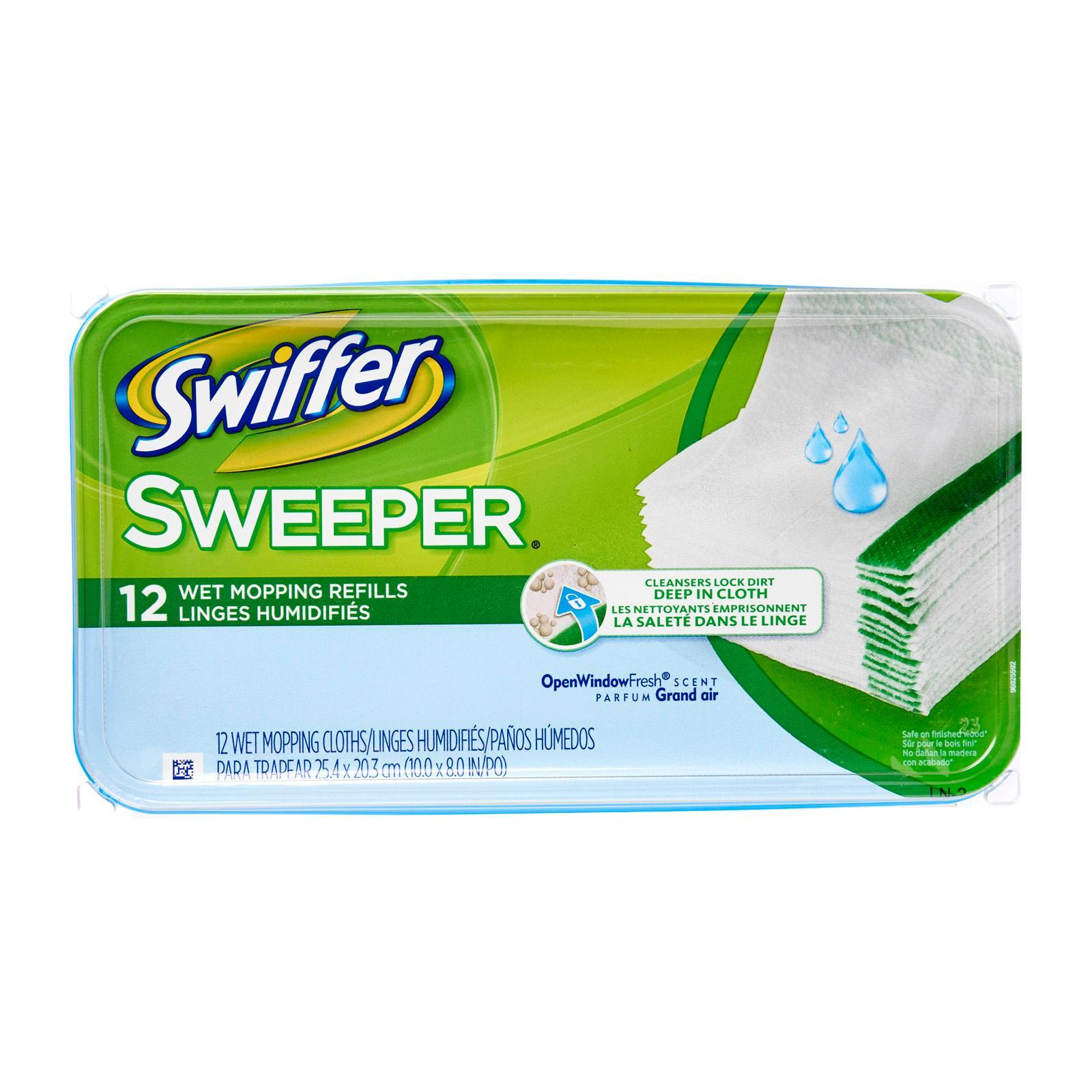 Swiffer Sweeper Wet Mopping Cloth Refill - Open Window Fresh Scent