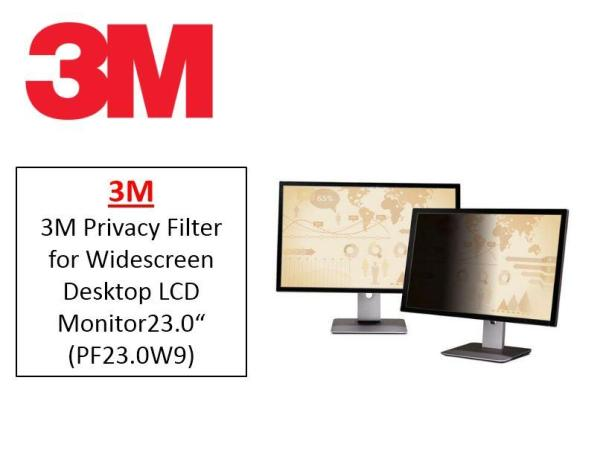 3M PF23.0W9 Privacy Filter for Widescreen Desktop LCD Monitor 23.0