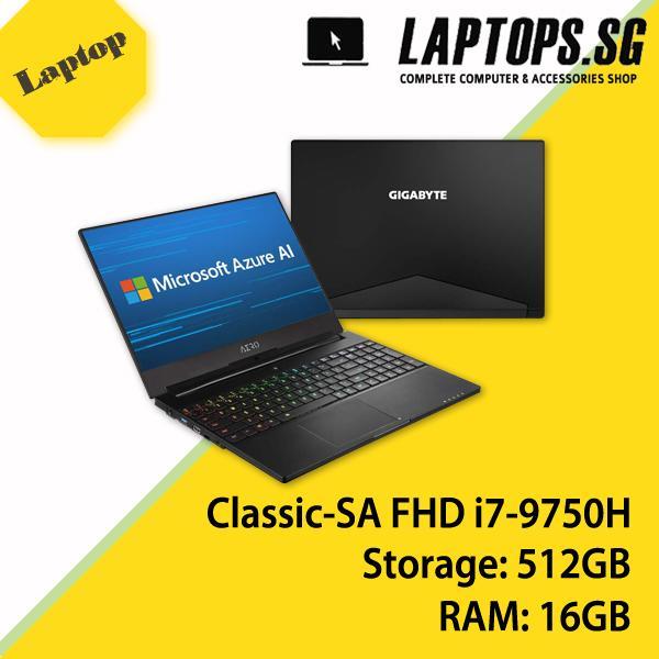 GIGABYTE AERO 15 Classic-SA FHD (i7-9750H/16GB SAMSUNG DDR4 2666 (8GB*2)/GeForce GTX 1660 Ti GDDR6 6GB/512GB INTEL 760P PCIE SSD/15.6 Thin Bezel LG FHD 144Hz IPS/WINDOWS 10 PROFESSIONAL)