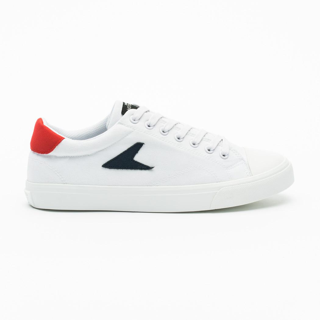 08757a5ac7aacb [M] Bata Heritage Bata Hotshots White & Blue (Low Top Canvas)