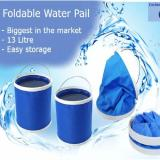 13L Foldable Water Pail In Stock