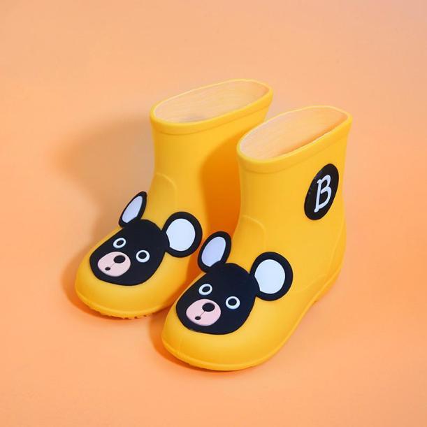Giày Trẻ Em Bé Trai Bé Gái Cổ Điển Ủng Mưa Cao Su PVC Chuột Hoạt Hình Cho Bé Màu Kẹo Giày Đi Nước Trẻ Em Ủng Đi Mưa Không Thấm Nước giá rẻ