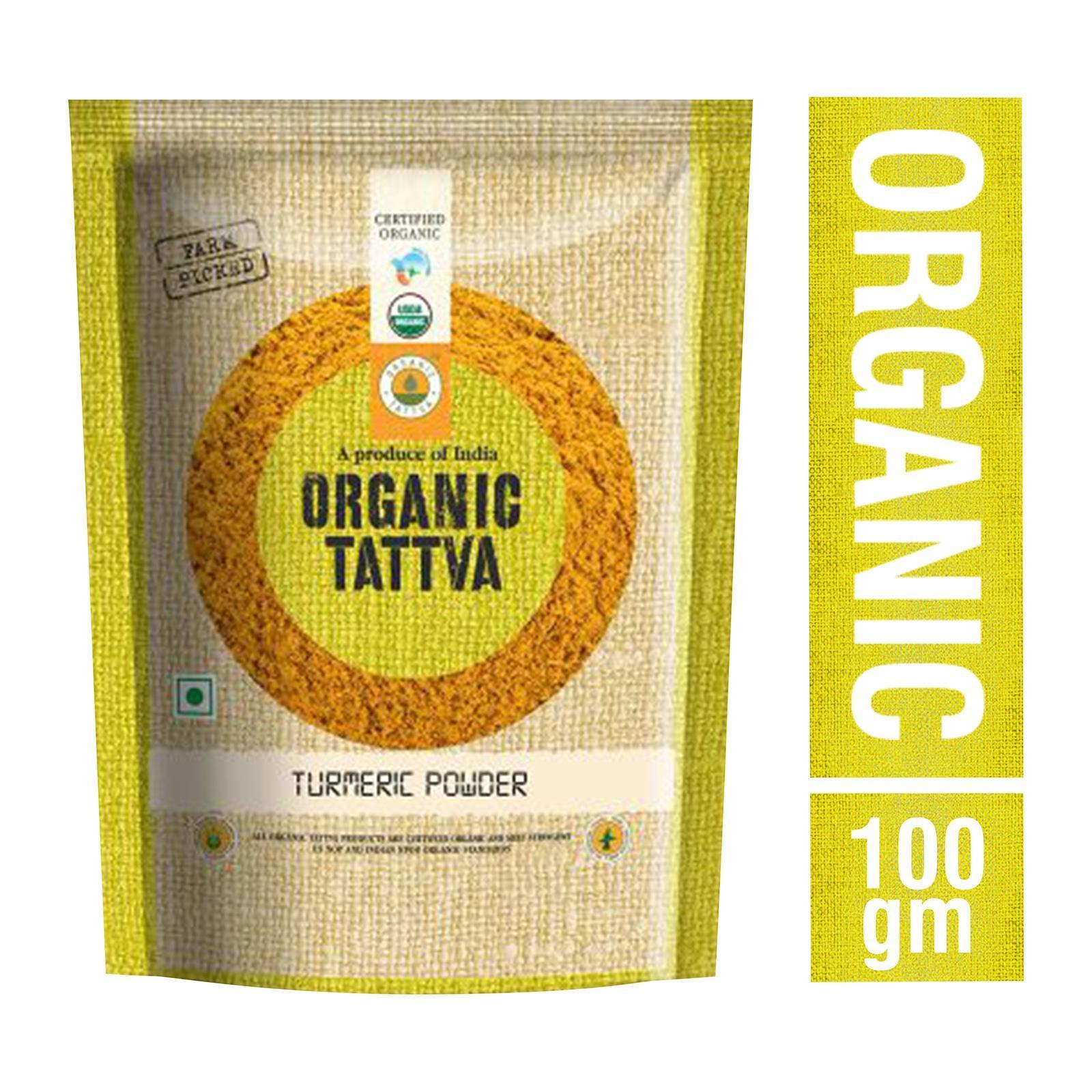 Organic Tattva Organic Turmeric Powder - By Sonnamera