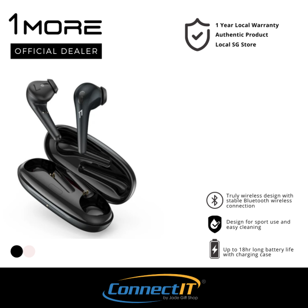 1More ComfoBuds ESS3001T Wireless Earbuds Bluetooth 5.0 Earbuds With IPX5 Water and Sweat Resistance (1Year Local Warranty) Singapore