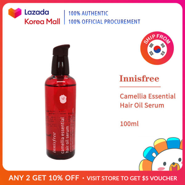 Buy Innisfree Official Camellia Essential Hair Oil Serum 100ml [Korea Beauty Authentic] Singapore