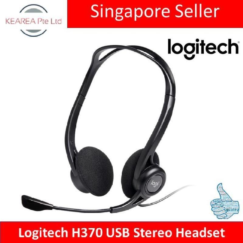 (Pre-Order) Logitech H370 USB Stereo Headset Singapore