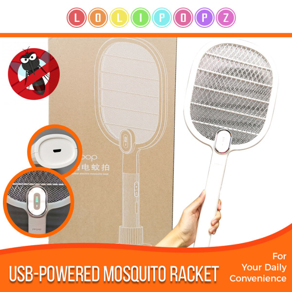 USB-Powered Style Mosquito Killer - Insect Racket - Kill Pest House Flies Mosquito | Prevent Dengue