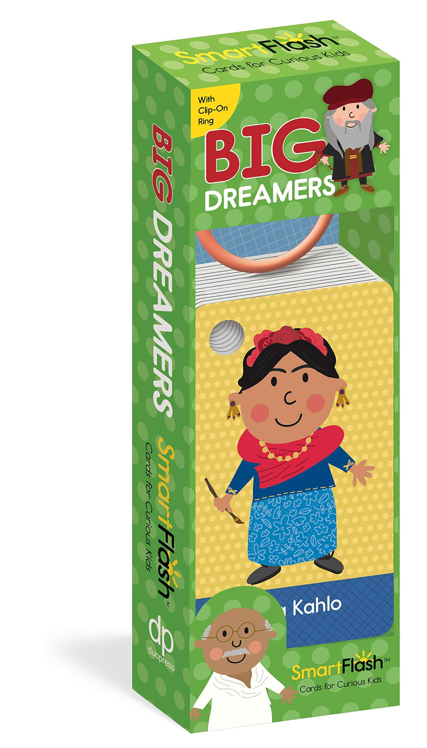 Big Dreamers: Smart Flash Cards for Curious Kids by Labs Duopress