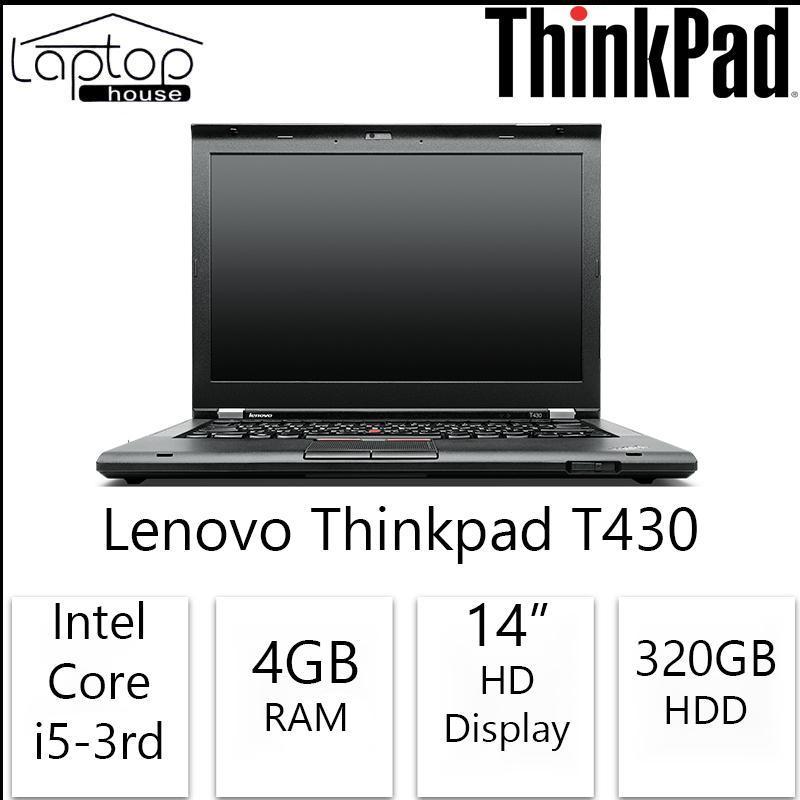 Lenovo Thinkpad T430 (Intel Core i5-3230M / 320GB HDD/ 4GB RAM)